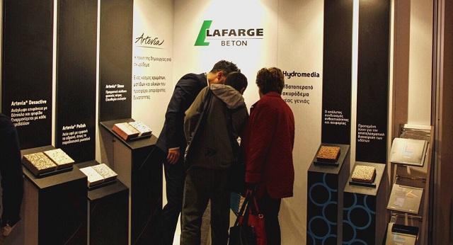 Η Lafarge Beton ανέδειξε τα Ειδικά Σκυροδέματα στο the Architect Show