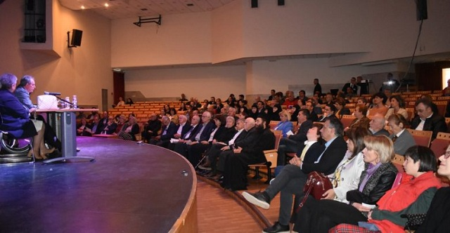 Συγκίνηση στο πολιτικό μνημόσυνο για τον ιδρυτή της Π.ΟΜ.Α.μεΑ. Θεσσαλίας [εικόνες]