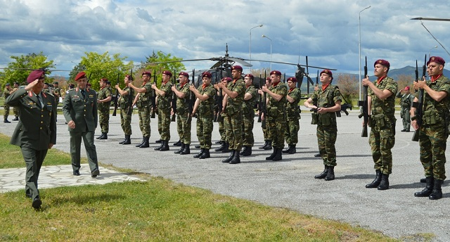 Εορτασμός της Ημέρας Μνήμης και Τιμής στην Αεροπορία Στρατού στην 1η ΤΑΞ.Α.Σ.