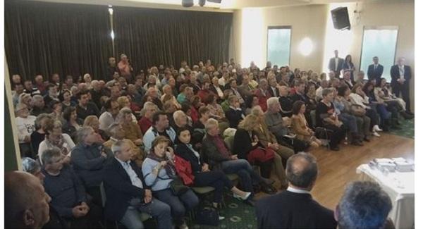 Στη Χαλκίδα ο υποψήφιος ευρωβουλευτής Π. Μαρκάκης σε εκδήλωση της «Ελληνικής Λύσης»