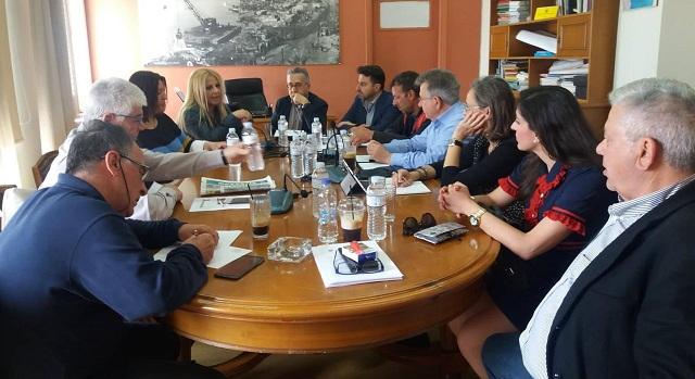 Κολυνδρίνη: Δημιουργούμε τις προϋποθέσεις για νέες υποδομές στο Λιμάνι