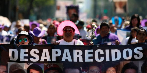 Μητέρες διαδήλωσαν στο Μεξικό για τα εξαφανισμένα παιδιά τους