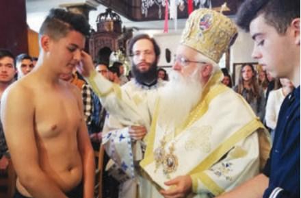 Ημέρα γιορτής στην Αργαλαστή ~ Χριστιανοί βαφτίστηκαν δύο μαθητές