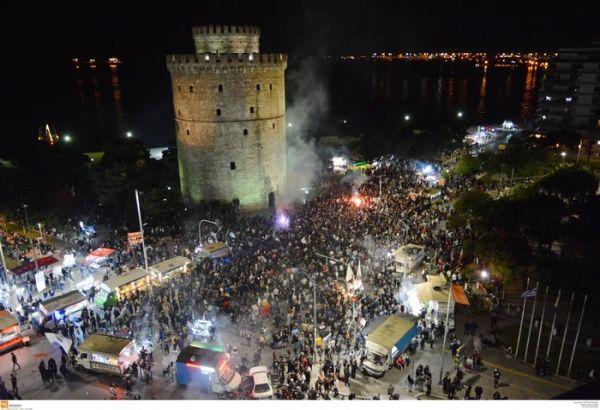 Η νύχτα μέρα στη Θεσσαλονίκη για τον νταμπλούχο ΠΑΟΚ