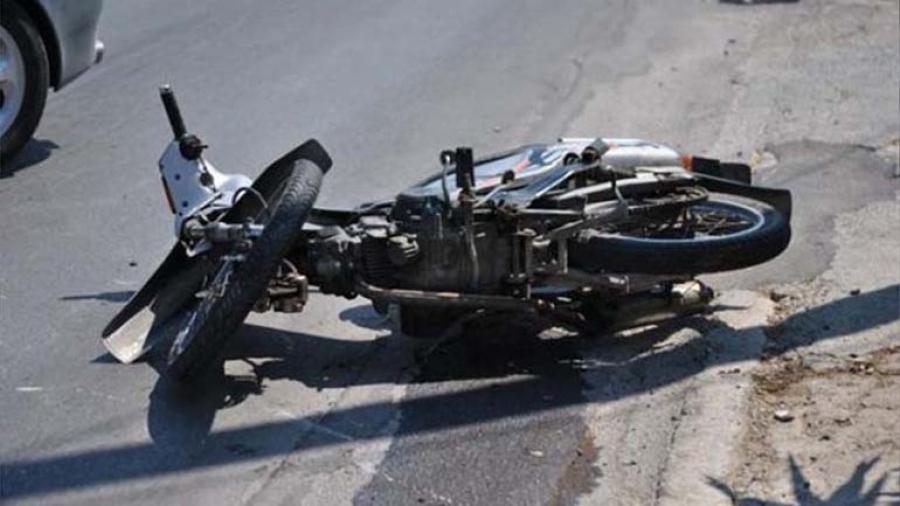 Τροχαίο στη Νέα Δημητριάδα- ΙΧ συγκρούστηκε με μοτοσυκλέτα