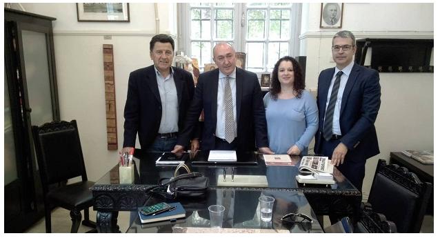 Επίσκεψη Π. Μουτσινά- Κορίνας Ιωαννίδου στα δικαστήρια του Βόλου