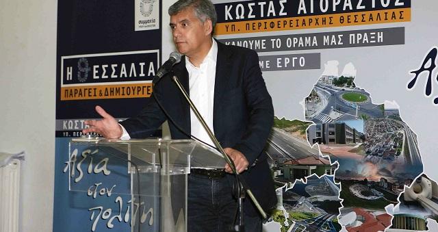 Κ. Αγοραστός: «35 έργα ύψους 26,4 εκατ. στον Δήμο Ν. Πηλίου»