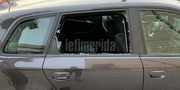 Επίθεση αγνώστων σε εκδήλωση με Σαμαρά-Κικίλια -Εσπασαν αυτοκίνητα