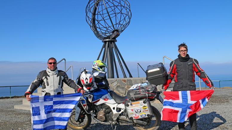 Πατέρας και γιός ολοκλήρωσαν ένα ταξίδι ζωής: 4.300 χλμ σε 11 ημέρες