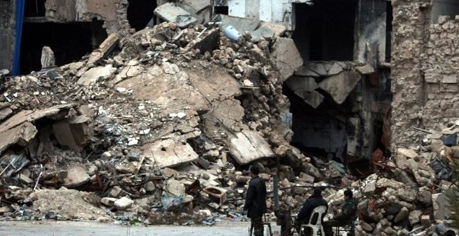 Χαλέπι: Δεκάδες νεκροί και τραυματίες από ρουκέτα σε καταυλισμό Παλαιστίνιων