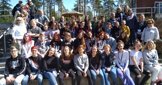 Σε διακρατική συνάντηση στην Φιλανδία μαθητές του Γυμνασίου Ευξεινούπολης