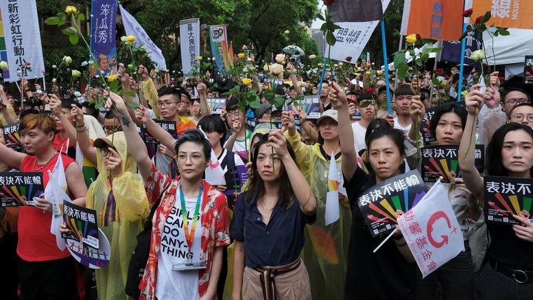 Η Ταϊβάν νομιμοποίησε τους γάμους ομοφυλόφιλων