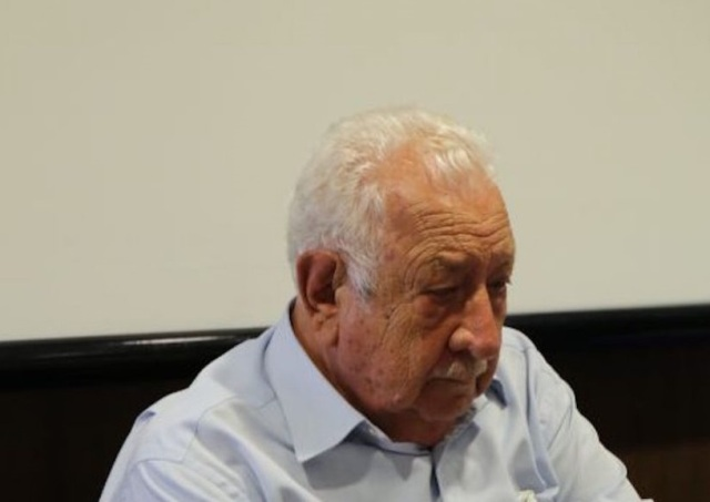 Ο Χαράλαμπος Τσιμάς επίτιμο μέλος της Λέσχης Βόλου