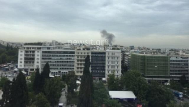Φωτιά στο κλειστό γήπεδο του Πανιωνίου