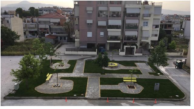Πάρκο με χορηγία της ΕΔΑ ΘΕΣΣ δημιουργήθηκε στη Λάρισα