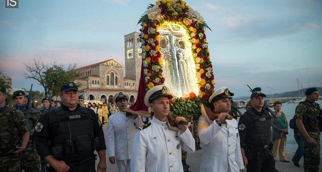 Λαμπρός ο εορτασμός των Αγίων Κωνσταντίνου & Ελένης στον Βόλο