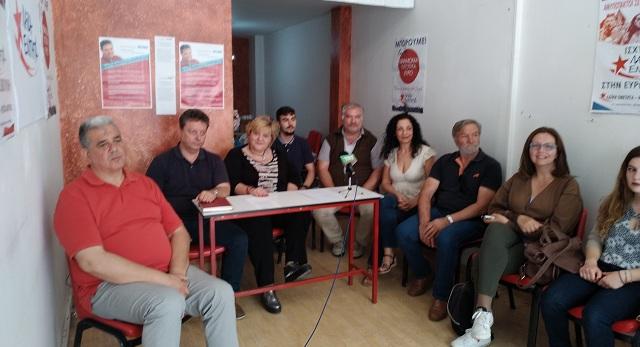 Ανυπότακτη Θεσσαλία: Παρουσιάστηκαν οι υποψήφιοι περιφερειακοί σύμβουλοι