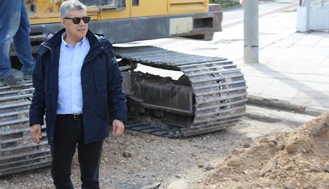 Έργο αγροτικής οδοποιίας 200.000€ στη Ν. Αγχίαλο από την Περιφέρεια