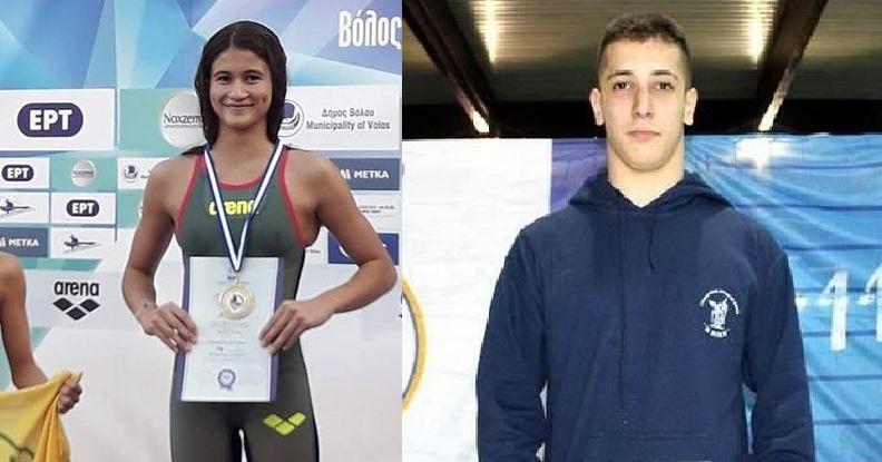 Σε διεθνείς αγώνες κολύμβησης Κοντοβάς και Ιωαννίδη