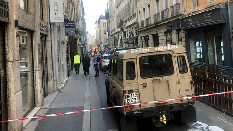 Συνελήφθη ένας ύποπτος για την έκρηξη παγιδευμένου δέματος στη Λιόν