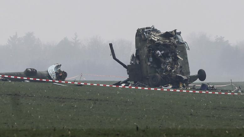 Τέσσερις νεκροί σε συντριβή στρατιωτικού ελικοπτέρου στην Ουκρανία