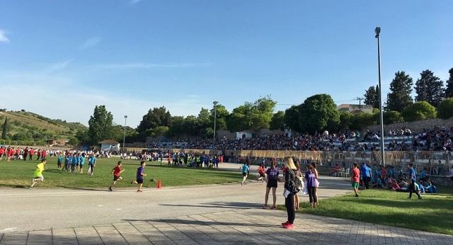 «Πλήθος μικρών αθλητών στους Αγώνες Στίβου- Ρήγεια 2019»