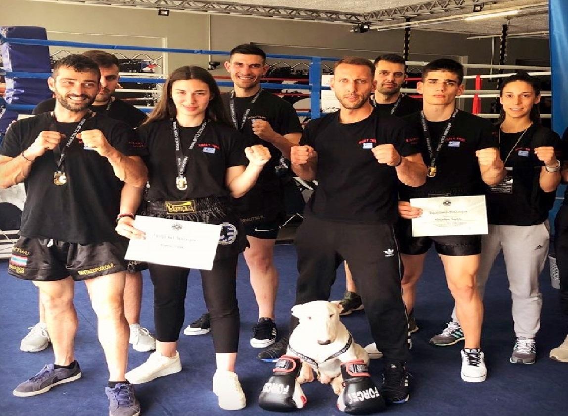 Σε φιλική αγωνιστική συνάντηση kickboxing οι «Budofamily» του Νικόμαχου Βόλου