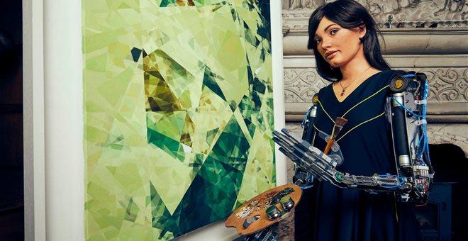 Η Aida είναι ένα ρομπότ που σύντομα θα κάνει έκθεση ζωγραφικής