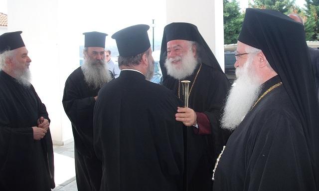 Θερμή υποδοχή του Πατριάρχη Αλεξανδρείας στον Βόλο