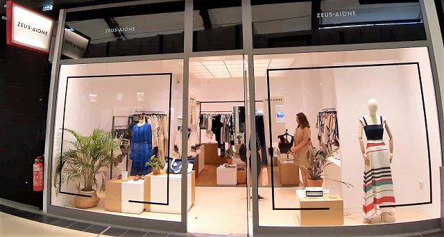 Η Zeus+Δione στο Fashion City Outlet στη Λάρισα