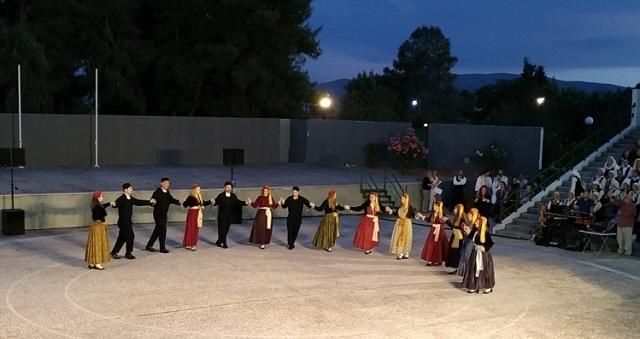 Χορευτικά συγκροτήματα από όλη την Ελλάδα συναντήθηκαν στη Νέα Ιωνία