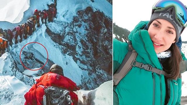 Η Ελληνίδα ορειβάτισσα που έζησε το θανατηφόρο «μποτιλιάρισμα» στο Έβερεστ