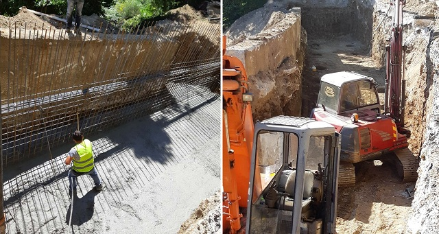 Προχωρά η αποκατάσταση βλαβών στο οδικό δίκτυο Μηλιές -Ξουρίχτι