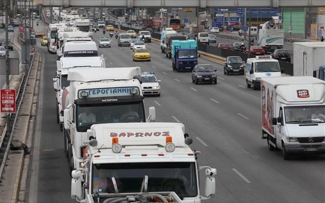 Κατάθεση προσφορών για παλιά φορτηγά