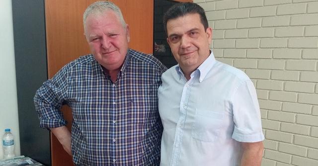 Στη ΔΕΥΑΜΒ ο υποψήφιος βουλευτής Μαγνησίας του ΚΙΝΑΛ Νίκος Χαυτούρας