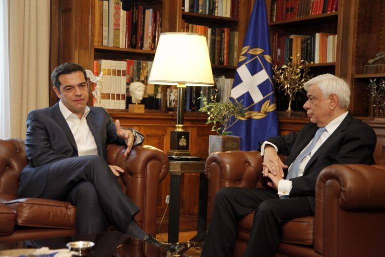 Στις 18.30  ο Τσίπρας στον Παυλόπουλο– Διάλυση της Βουλής και προκήρυξη εκλογών
