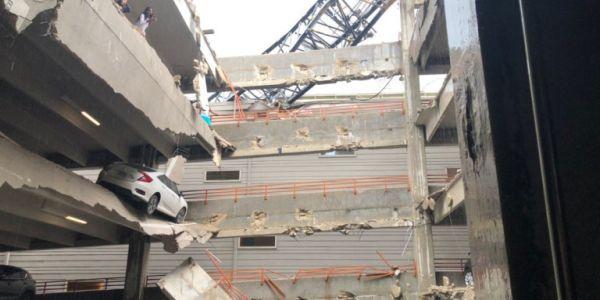 ΗΠΑ: Γερανός έπεσε σε πολυκατοικία - Ένας νεκρός και έξι τραυματίες