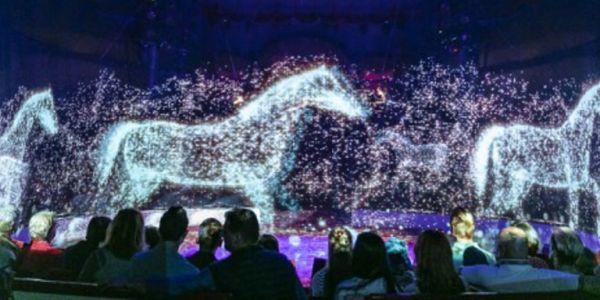 Ενα τσίρκο χωρίς ζώα - Μόνο με ολογράμματα