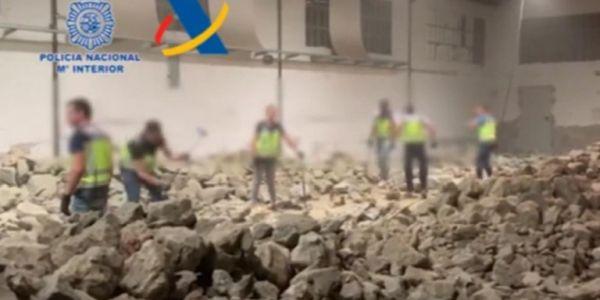 Ισπανία: Κύκλωμα έκρυβε έναν τόνο κοκαΐνης σε ψεύτικες πέτρες!