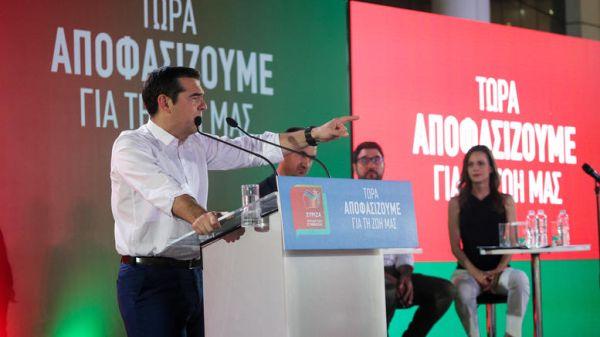 Αυτά είναι τα ψηφοδέλτια του ΣΥΡΙΖΑ για Αττική και Θεσσαλονίκη