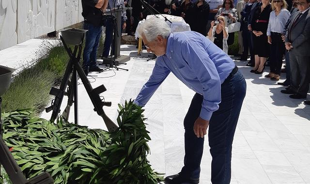 Στις εκδηλώσεις μνήμης στο Δίστομο ο Νικ. Ντίτορας