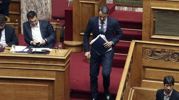 Προβάδισμα της ΝΔ έναντι του ΣΥΡΙΖΑ δίνουν νέες δημοσκοπήσεις