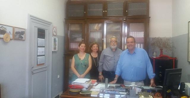Συνεργασία Μ. Μπαλλή με στελέχη και εργαζομένους στον ΟΣΕ στον Βόλο