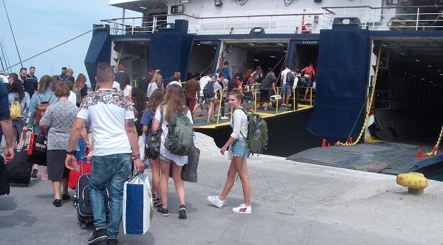 Πλήθος επισκεπτών στα νησιά των Σποράδων