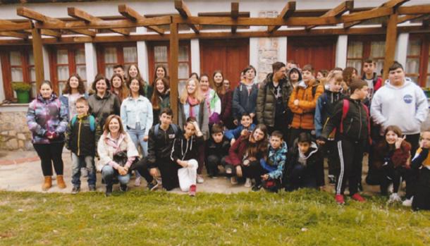 Βιωματική επίσκεψη στη σπηλαιοεκκλησία Παναγίας Τρύπας – Γορίτσας