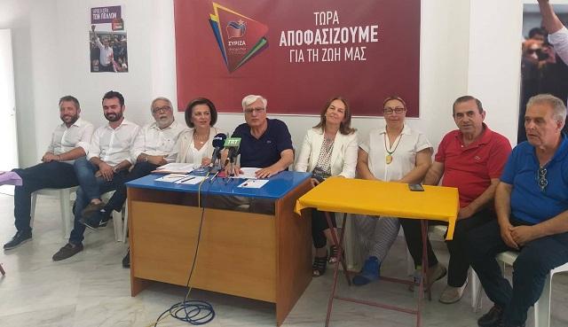 Κάλεσμα των υποψηφίων βουλευτών Μαγνησίας για στήριξη του ΣΥΡΙΖΑ