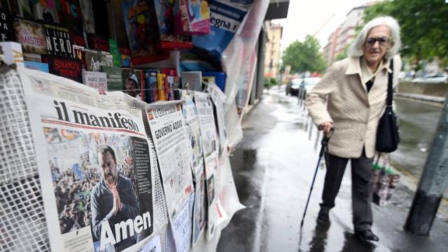 Γερνάει και φτωχαίνει η Ιταλία σε όλο και πιο γρήγορους ρυθμούς