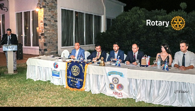 Τελετή Αλλαγής Ηγεσίας των Ροταριανών Ομίλων του Βόλου