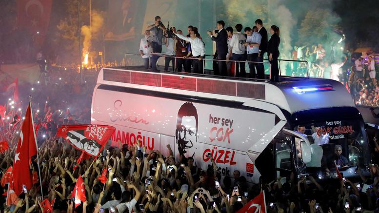 Γερμανικά ΜΜΕ για εκλογή Ιμάμογλου: Το σύστημα Ερντογάν κλονίζεται