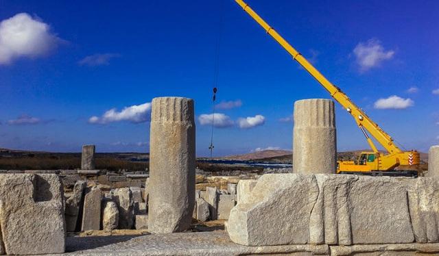 «Λαβωμένη» η Δήλος από την κλιματική αλλαγή: Αγωνία για τα μνημεία